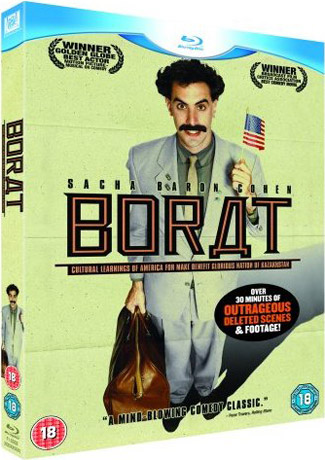 Blu-ray Borat: Cultural Learnings of America for Make Benefit Glorious Nation of Kazakhstan (afbeelding kan afwijken van de daadwerkelijke Blu-ray hoes)