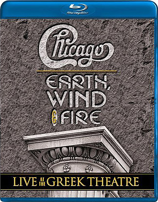 Blu-ray Chicago and Earth, Wind & Fire: Live at the Greek Theatre (afbeelding kan afwijken van de daadwerkelijke Blu-ray hoes)