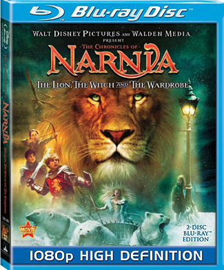 Blu-ray The Chronicles of Narnia: The Lion, the Witch and the Wardrobe (afbeelding kan afwijken van de daadwerkelijke Blu-ray hoes)
