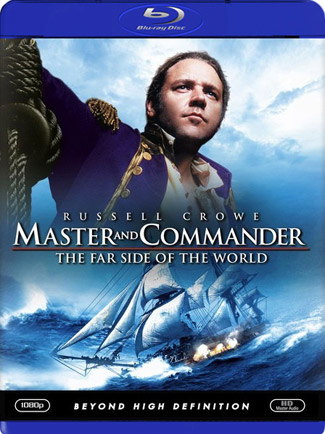 Blu-ray Master and Commander: The Far Side of the World (afbeelding kan afwijken van de daadwerkelijke Blu-ray hoes)