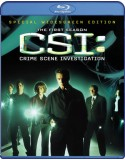 Blu-ray CSI: Crime Scene Investigation: The First Season