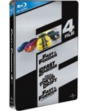 Blu-ray The Fast and the Furious 1-4 box set
