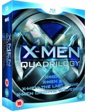 Blu-ray X-Men Quadrilogy